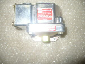 Delaval Barksdale D1t a3 Actuated Pressure Switch