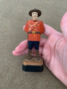Hand Carved Hand Painted 4 5 Mini Soldier Wooden Mf