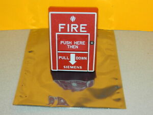 Siemens Msi 20b Fire Alarm Pull Station 500 893081 Free Fedex 2 day Ship