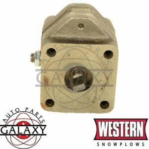 Western Fisher Snow Plow Replacement Old Style Hydraulic Pump 25557