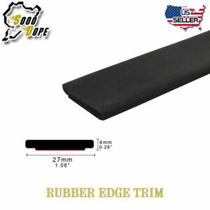 Car Windshield Sunroof Protect Rubber Trim Seal Weatherstrip 10 X 1 1 16 27mm