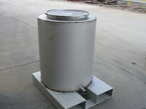 110 Gallon Stainless Steel Tank Free Freight Shipping