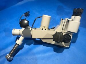 Carl Zeiss F 160 Optic Head With Two 12 5x Eyepiece Lenses