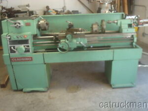 Clausing 1500 15 X 48 Lathe W 5 Hp Motor Variable Speed Drive