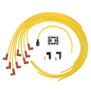 Accel 4041 Spark Plug Wire Set Yellow