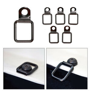 6pcs Tie Down Strap Stainless Heavy Duty For Jeep Wrangler Trunk Cargo