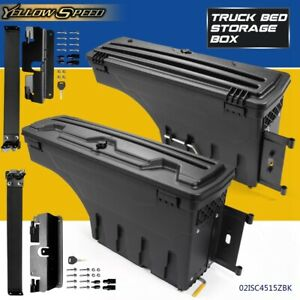 Truck Bed Storage Box Toolbox Rear Rh lh For Chevy Silverado Gmc Sierra 07 2018