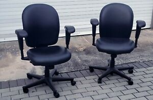 Herman Miller Office Chair Ambi Black Desk task Chair Great Condition Save 700