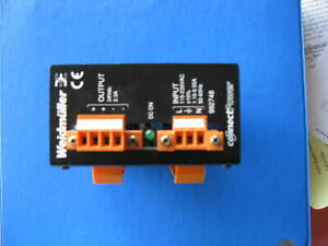 Weidmuller Connect Power 24 Vdc 2 3 A Power Supply On Din Rails