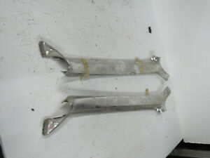 1967 Pontiac Bonneville Grand Prix Impala Chrome Interior A Pillar Trim Molding