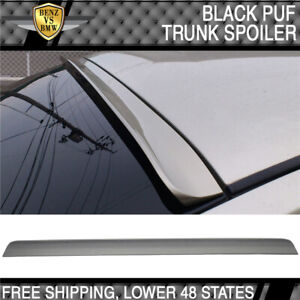 08 12 Honda Accord 8th Generation Unpainted Rear Window Visor Roof Lip Spoiler