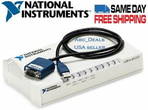 National Instruments Usb 232 4 Usb To Serial Port Adapter 187660g 11l Usa Seller