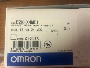 Omron Capacitive Proximity Switch P n E2k x4me1 12 To 24 Vdc New In The Box