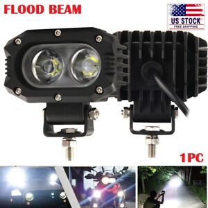 4inch Backup Reverse Led Work Light Offroad Suv Atv Truck Pods Flood Fog Lights
