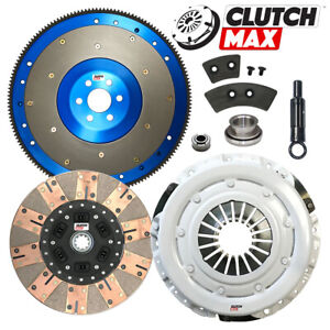 Stage 3 Dual Composite Clutch Kit aluminum Flywheel For 81 95 Ford Mustang 5 0l