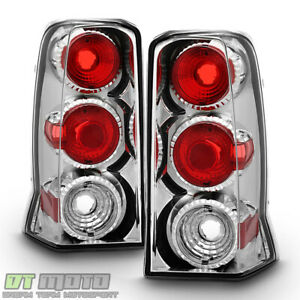 2002 2003 2004 2005 2006 Cadillac Escalade Chrome Tail Lights Lamps Left Right