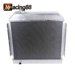 New Brand 3 Core Performance Radiator For 55 57 Chevy Bel Air Nomad V8 Mt Only