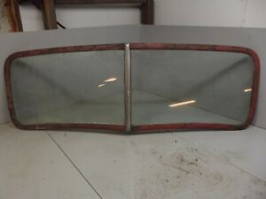 Vintage Chevrolet Truck Windshield And Frame 1946 1941 1940 1939 Chevy