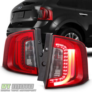 2011 2012 2013 2014 Ford Edge Led Light Tube Tail Lights Brake Lamps Left Right