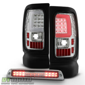 1994 2001 Dodge Ram 1500 2500 3500 Led Tube Tail Lights Led 3rd Brake Stop Lamp