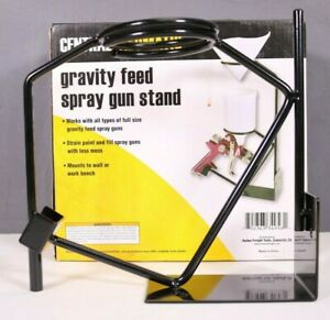 Central Pneumatic Gravity Feed Spray Gun Stand Item 34858