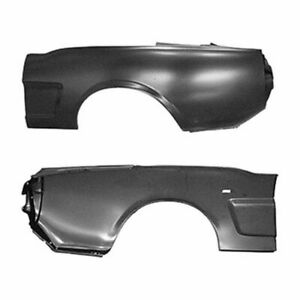 Goodmark Driver Side Quarter Panel Fits 1965 1966 Ford Mustang Gmk302060165ql
