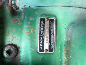 1972 John Deere 4000 Diesel Powershift Late Serial Number Differential Lock