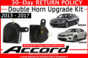 2013 2017 Honda Accord Double Horn Upgrade Kit Oem New 38100t2a