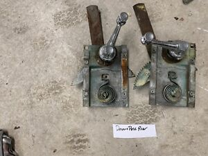 1957 57 Chrysler Windsor Rear Doors Window Regulators Cranks Oem
