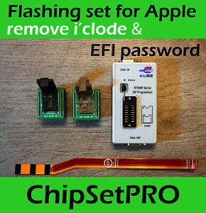 Apple Macbook Unlock Service Jtag Sam Efi Rom Rubber Cable Professional Tool Set