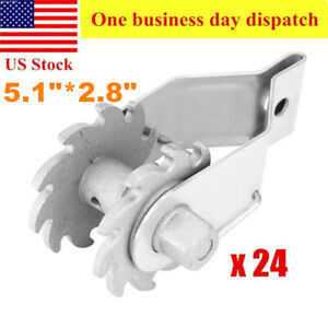 24 Pack In Line Ratchet Wire Strainer Electric Fence Wire Strainer Heavy Duty