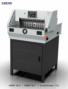 460mm 18 Paper Guillotine Cutter Cutting Machine Programmable Trimmer economic