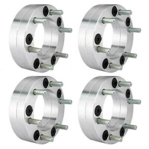 4pcs 5x5 5 To 6x5 5 5 To 6 Lug 2 Thick Wheel Spacers Adapters For Ram 1500