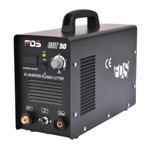 Cut 50 Electric Digital Plasma Cutter Inverter 50amp Welder Cutting Dual Voltage