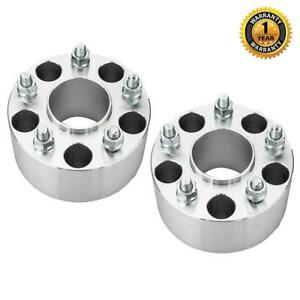 2pc Hubcentric 5x4 75 3 Wheel Spacers Adapters For Chevy Camaro Corvette S10