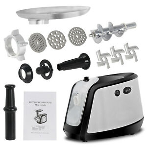 0 5hp 1000wpremium Steel Meat Grinder Commercial Sausage Stuffer Chopper Machine