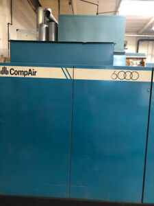 Large Air Compressor Compair 6000 Used Manufactured By Compair Kellog Inc