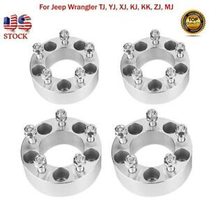 4x 2 Wheel Spacers Adapters 5x4 5 Fit For Jeep Wrangler Tj Yj Xj Kj Kk Zj Mj Us