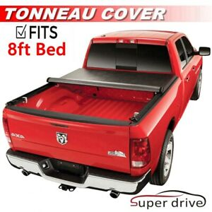 Roll Up Soft Lock Fits 2009 2018 Ford F 150 8ft 96in Bed Cover Tonneau Cover