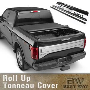 Fits 2005 2019 Nissan Frontier 6 Ft Bed Roll Up Tonneau Cover Vinyl Lock Cover