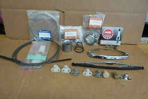 Porsche 356 Parts Lot Oem Used Variety