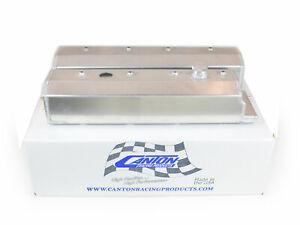 Canton 65 208 Valve Covers For Small Block Chevy Lt1 Corvette 92 96 Fabbed Blem