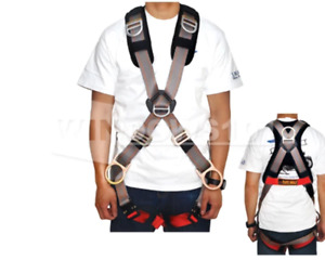 Madaco Retriever 5 Point Full Body Safety Harness 4 D Ring New