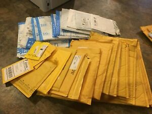 Save A Tree Buy My Huge Lot Padded cushioned Mailers Bubble Pouches Envelopes