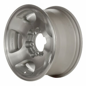 69314 Oem Reconditioned Wheel 16in Machined W Silver Mag Lug Hole