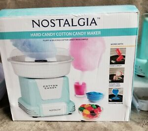 Nostalgia Electrics Hard Or Granule Cotton Candy Maker W 2 3 pack Sugar Kits Ec