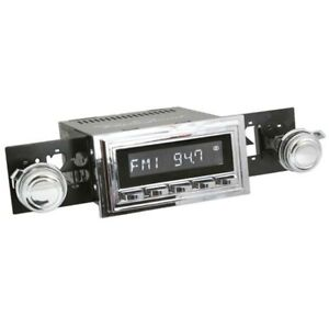 Retrosound M2c 126 55 75 Model Two Radio 1969 73 Mustang Chrome