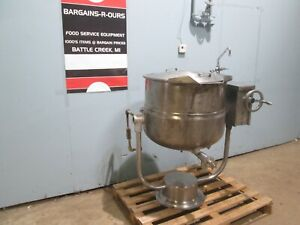 blodgett Kpt 40ds Hd Commercial 40gal Tilting Direct Steam Jacketed Kettle