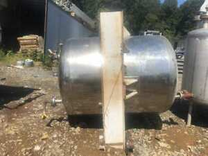 500 Gallon Stainless Steel Process Tank Liquid Storage Tank