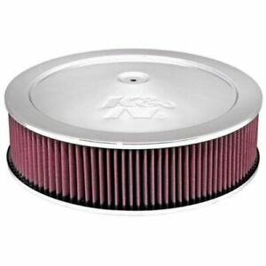 K N Filters 60 1290 1 1 4 Drop Base Custom Round Air Cleaner Filter Assembly